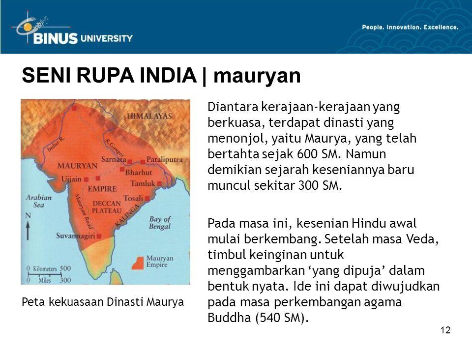 SENI RUPA INDIA | mauryan