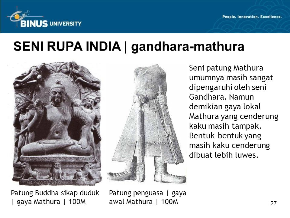 SENI RUPA INDIA | gandhara-mathura