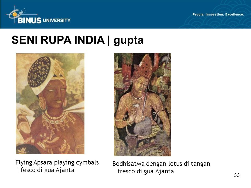 SENI RUPA INDIA | gupta Flying Apsara playing cymbals