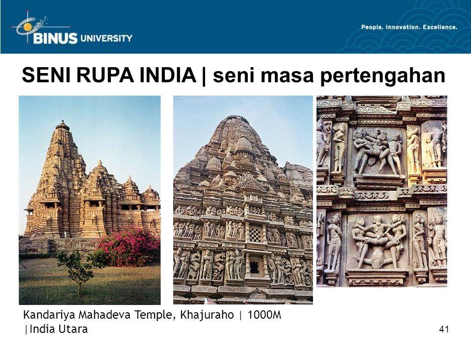 SENI RUPA INDIA | seni masa pertengahan