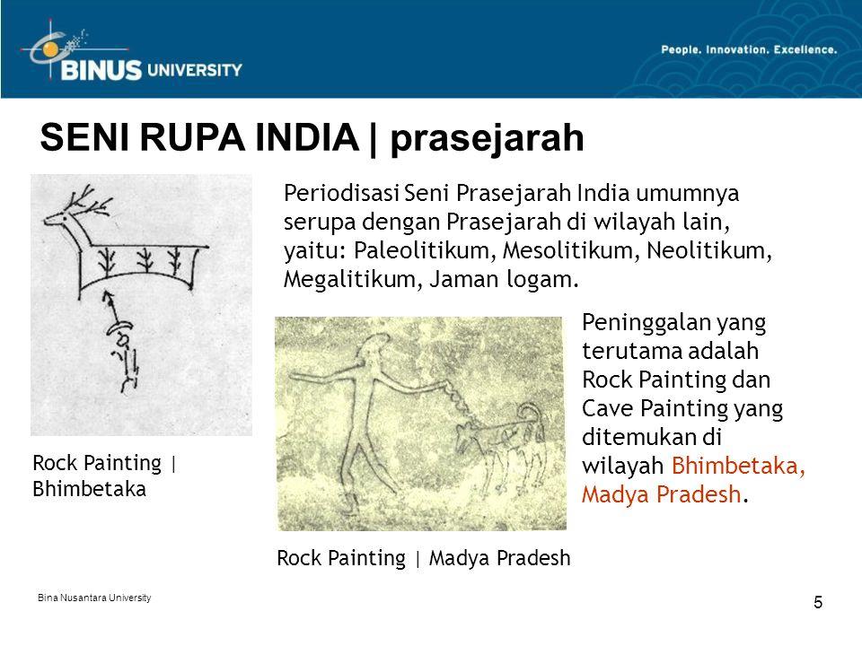 SENI RUPA INDIA | prasejarah