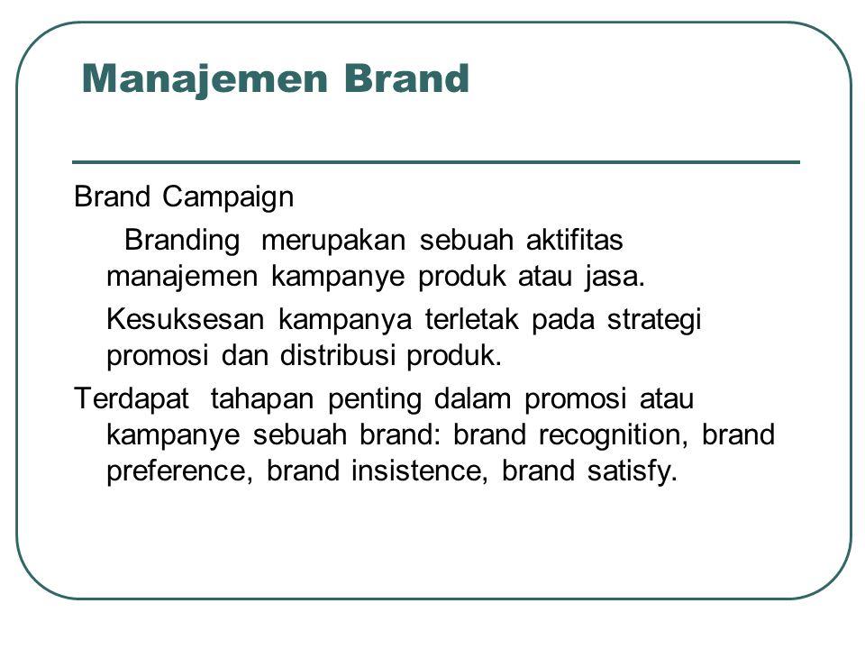 Manajemen Brand