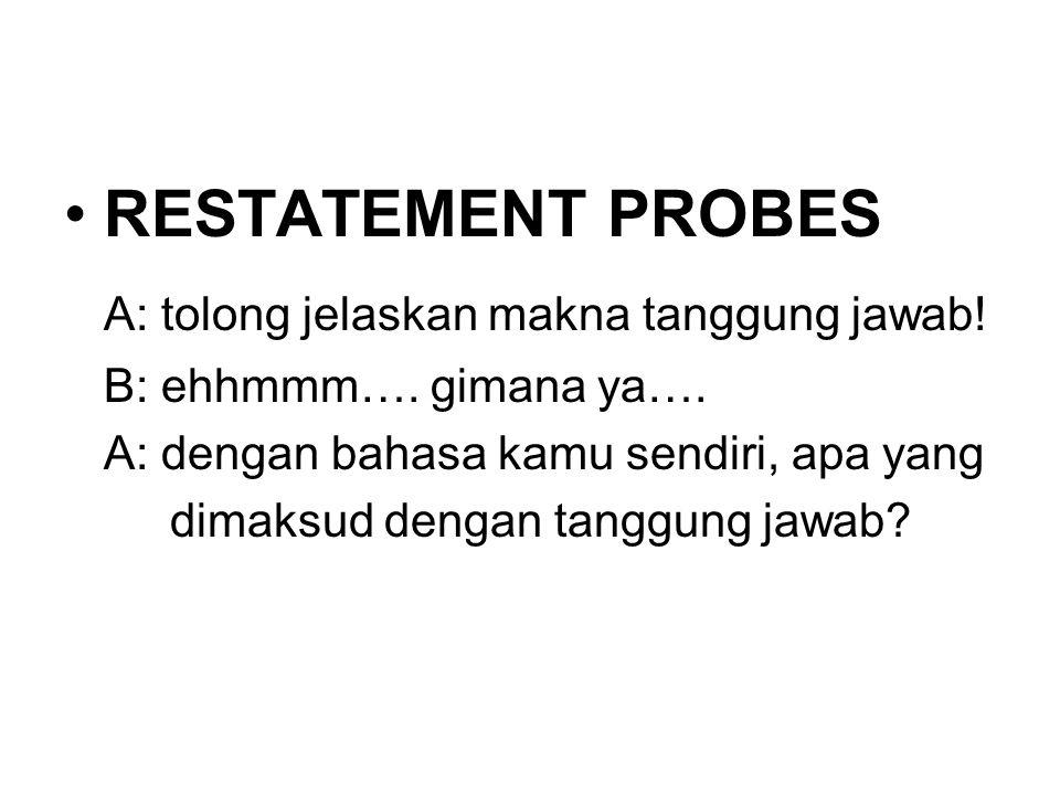 A: tolong jelaskan makna tanggung jawab!