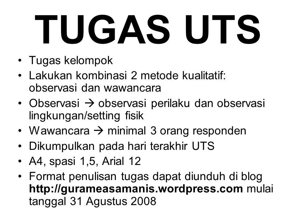 TUGAS UTS Tugas kelompok