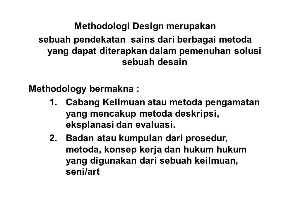 Methodologi Design merupakan