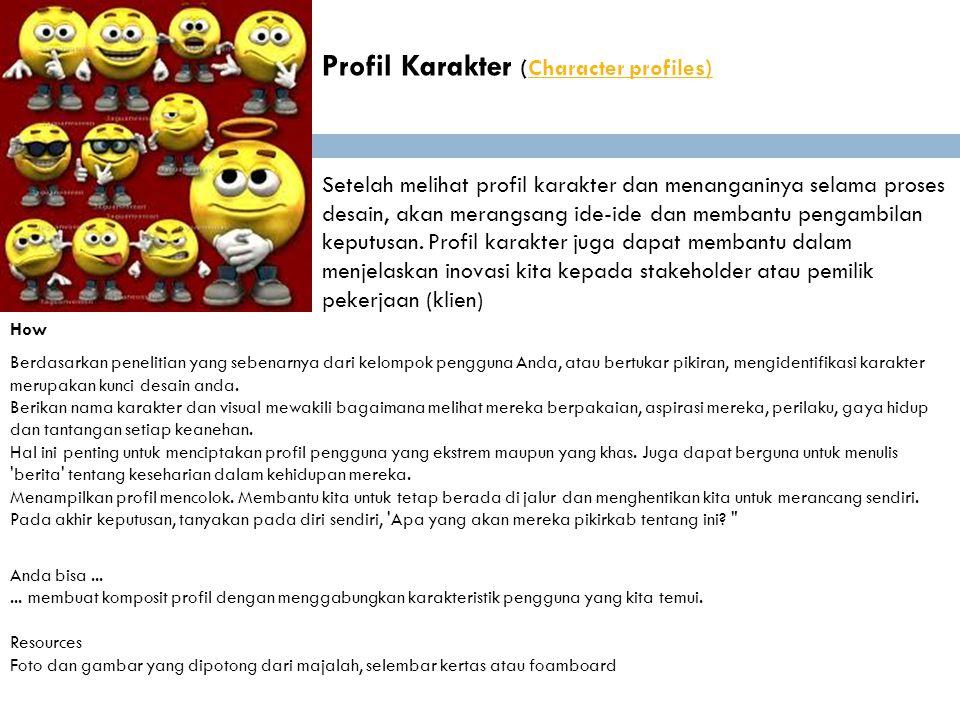 Profil Karakter (Character profiles)
