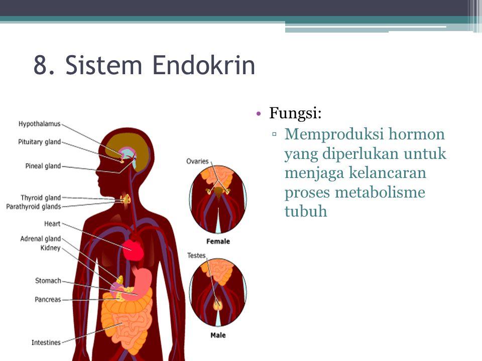 8. Sistem Endokrin Fungsi: