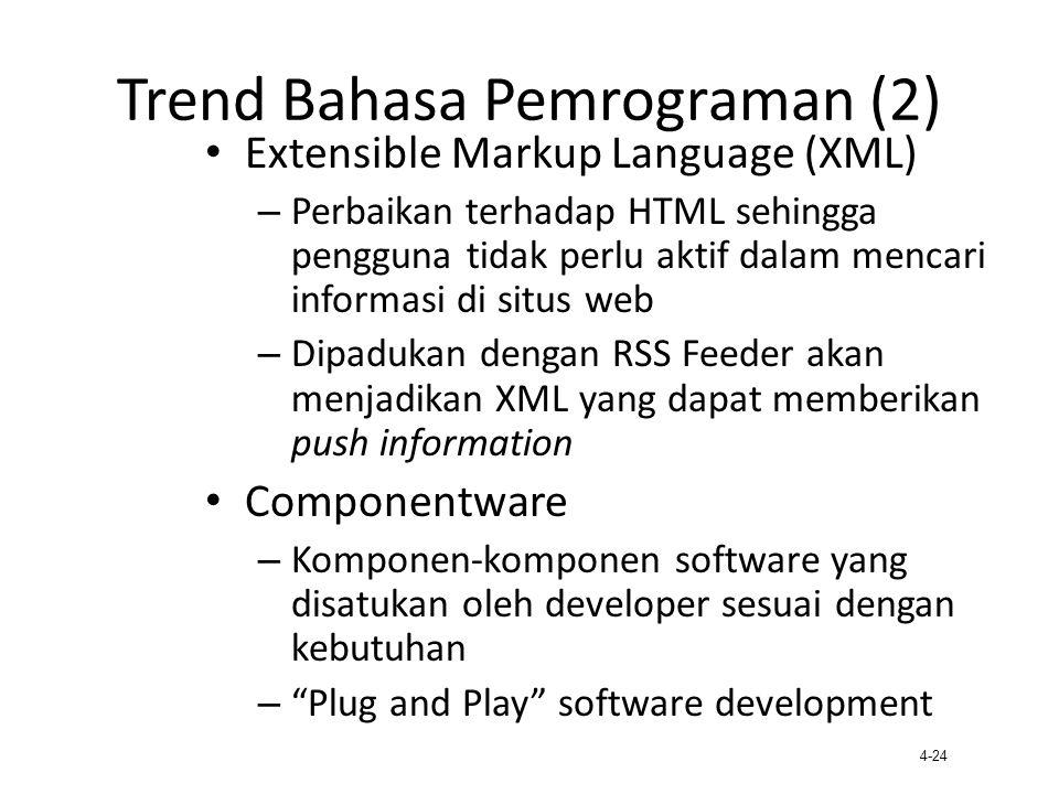 Trend Bahasa Pemrograman (2)