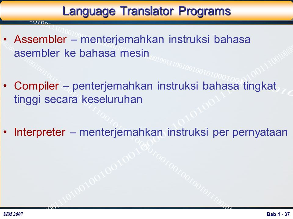 Language Translator Programs
