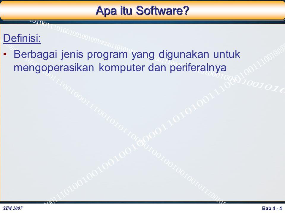 Apa itu Software Definisi: