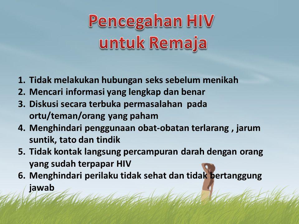 Pencegahan HIV untuk Remaja
