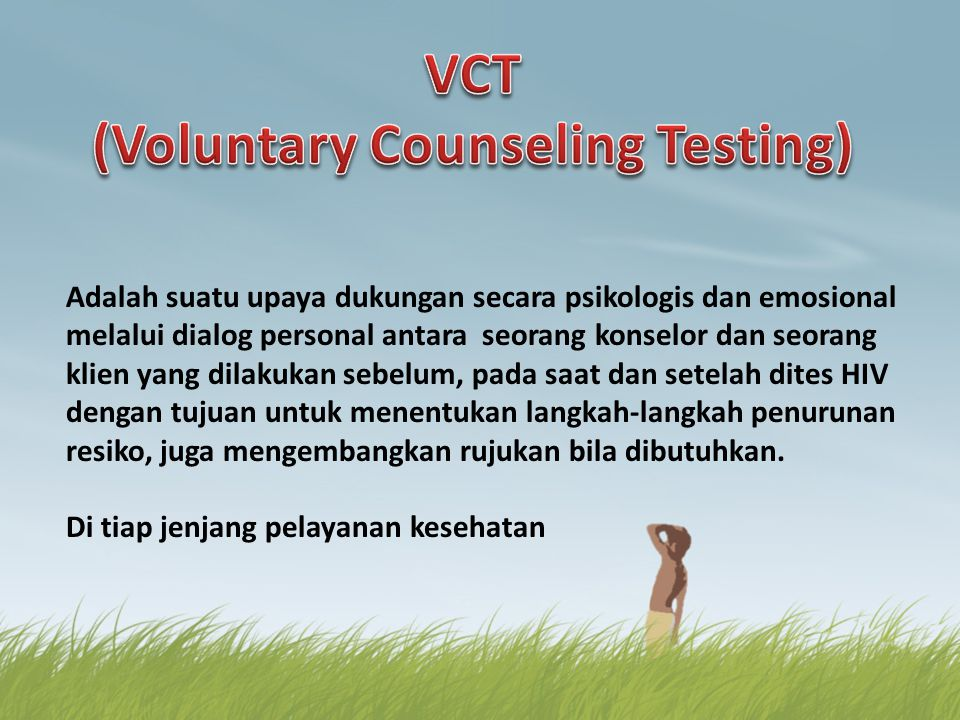 (Voluntary Counseling Testing)