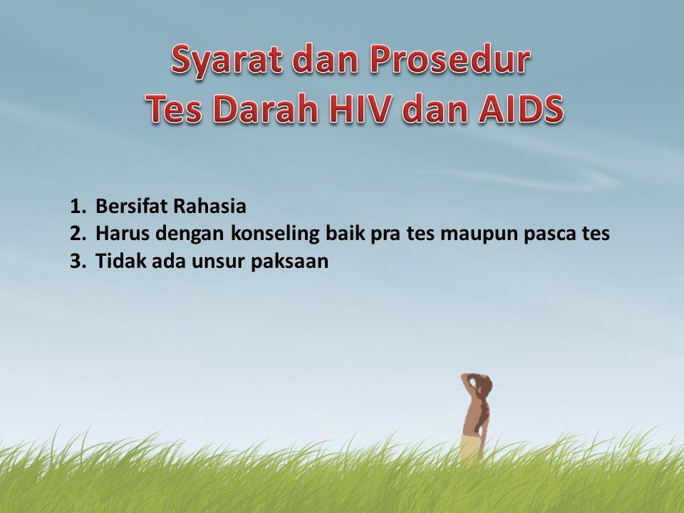 Syarat dan Prosedur Tes Darah HIV dan AIDS