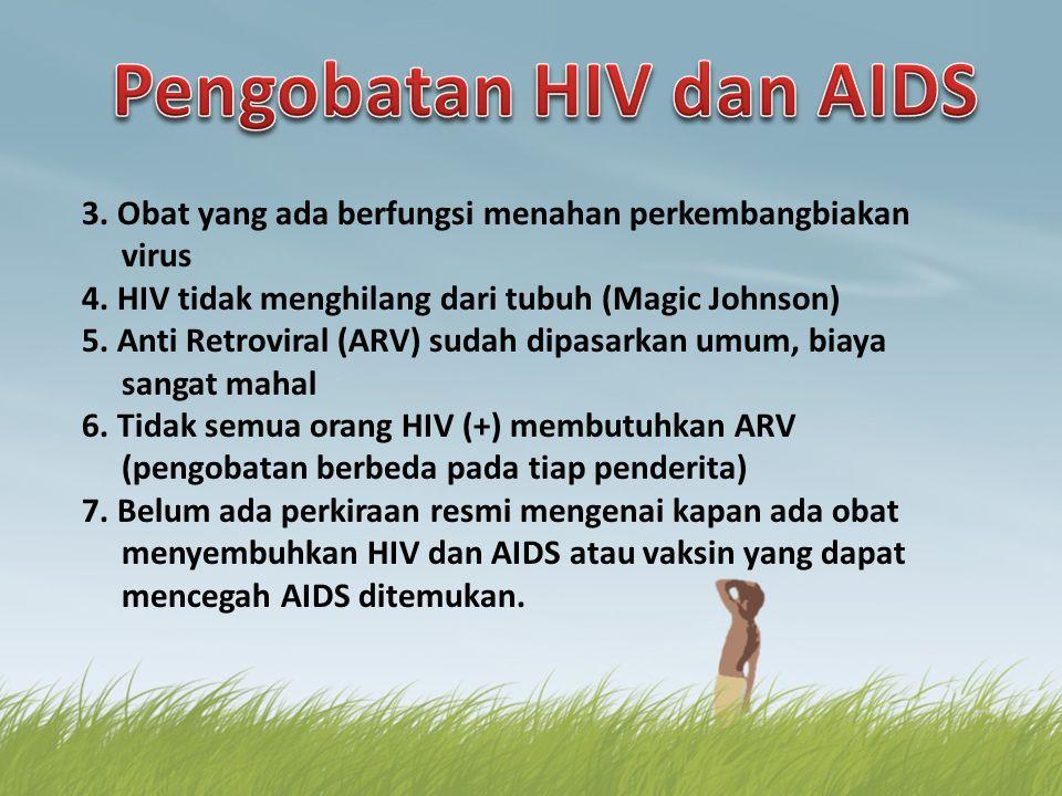 Pengobatan HIV dan AIDS
