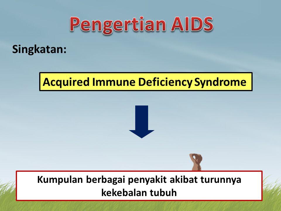 Kumpulan berbagai penyakit akibat turunnya kekebalan tubuh