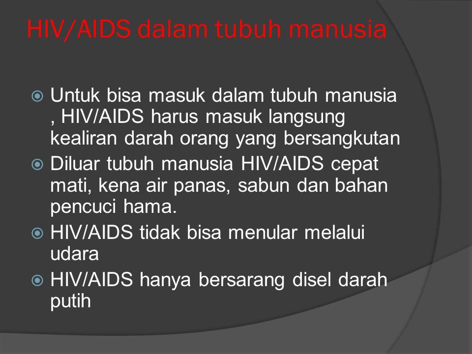 HIV/AIDS dalam tubuh manusia