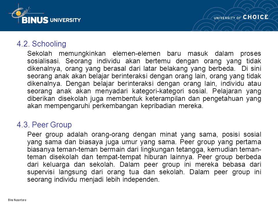 4.2. Schooling