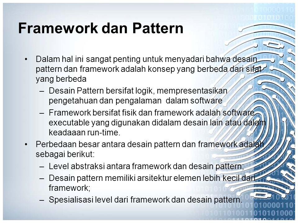 Framework dan Pattern