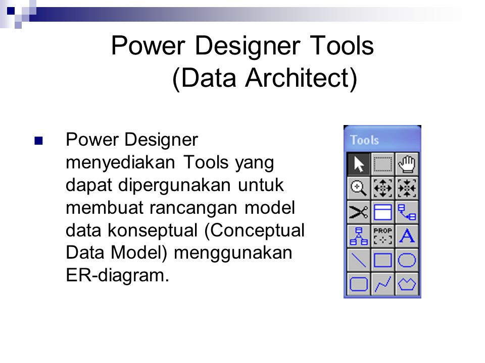 Power Designer Tools (Data Architect)