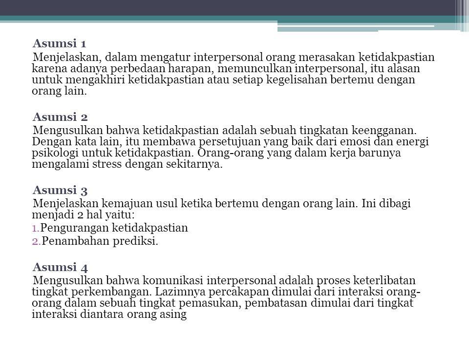 Asumsi 1
