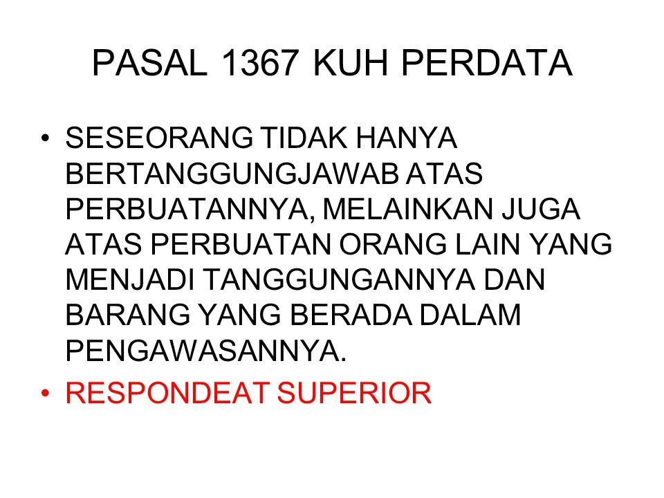 PASAL 1367 KUH PERDATA