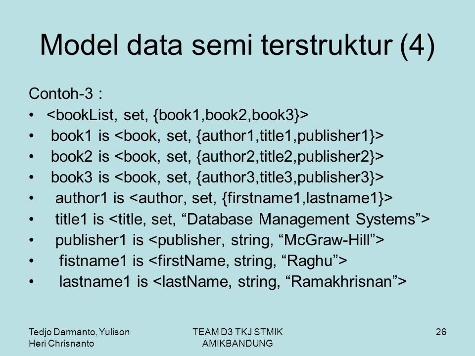 Model data semi terstruktur (4)