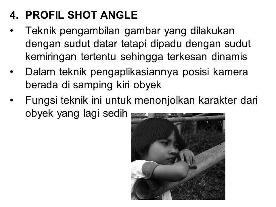 PROFIL SHOT ANGLE