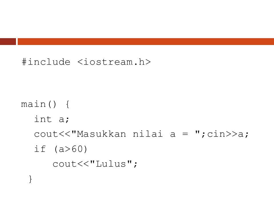 #include <iostream