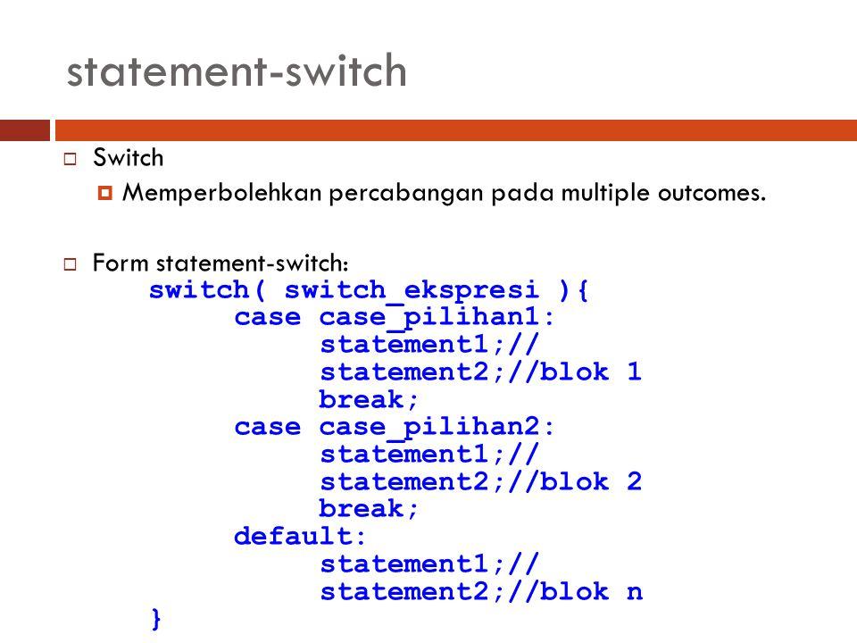 statement-switch Switch