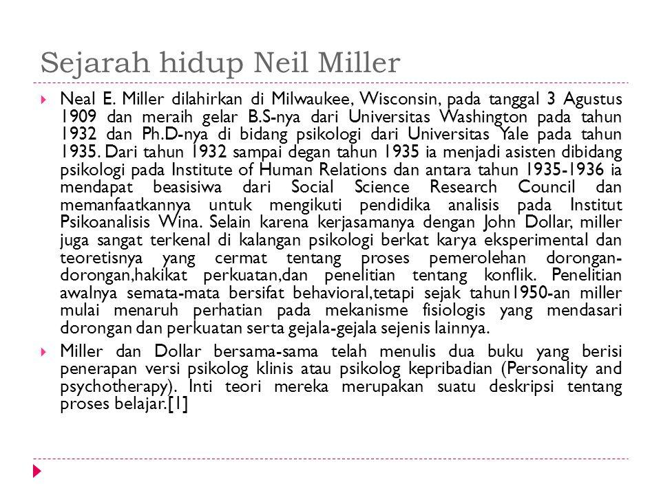 Sejarah hidup Neil Miller