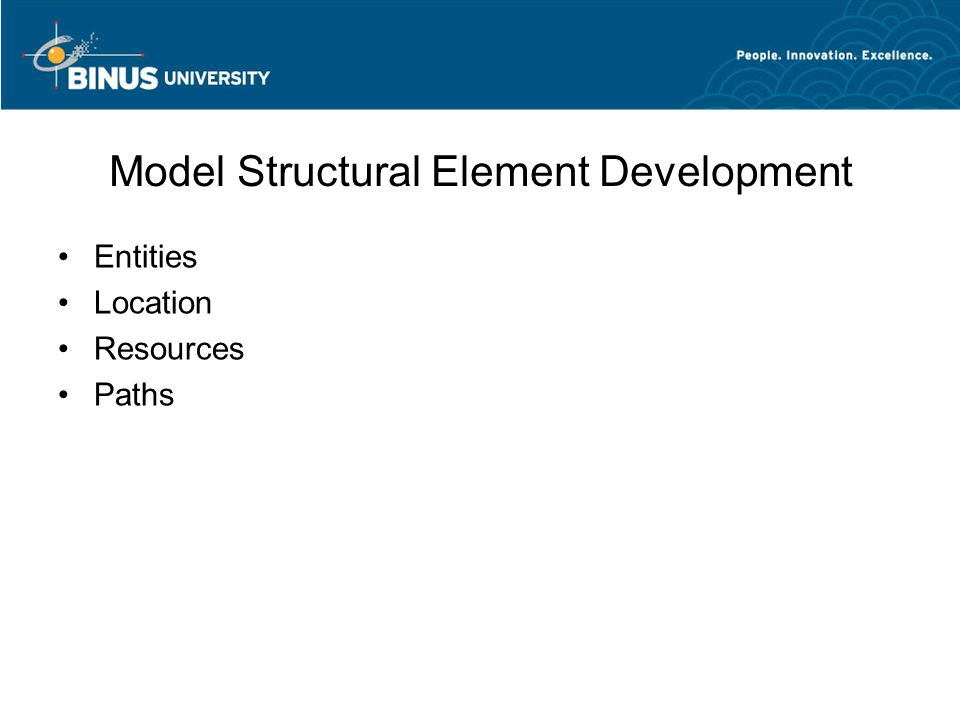 Model Structural Element Development