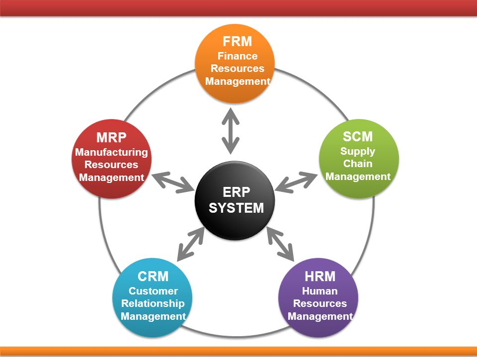 ERP SYSTEM FRM SCM MRP CRM HRM