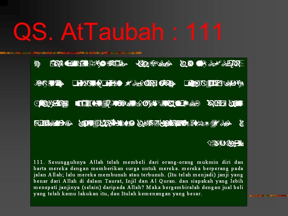 QS. AtTaubah : 111