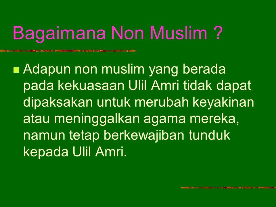 Bagaimana Non Muslim