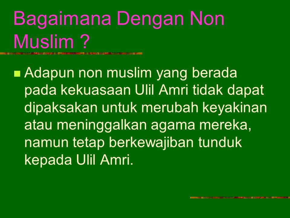 Bagaimana Dengan Non Muslim