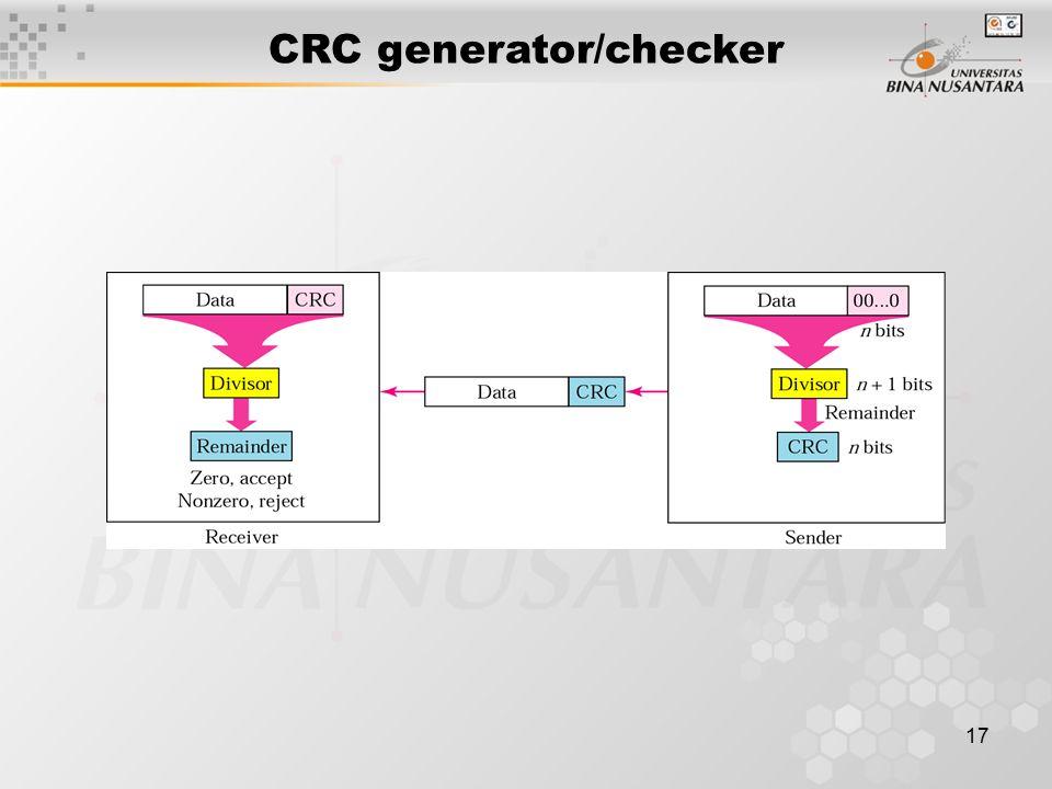 CRC generator/checker