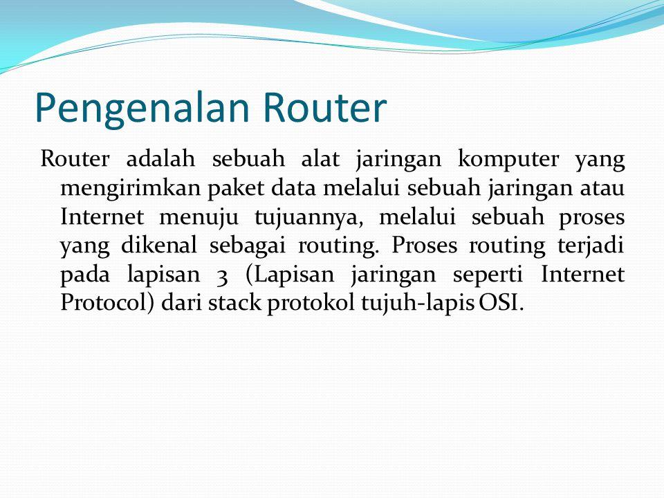 Pengenalan Router