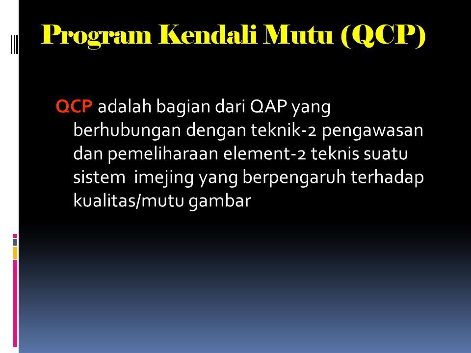 Program Kendali Mutu (QCP)