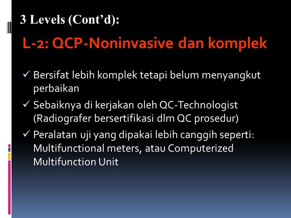 L-2: QCP-Noninvasive dan komplek