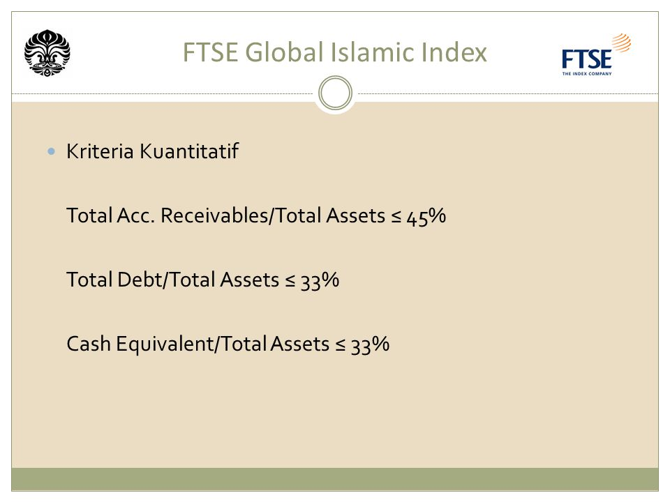 FTSE Global Islamic Index
