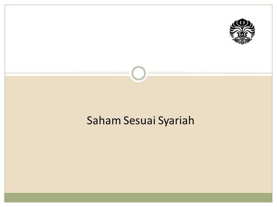 Saham Sesuai Syariah