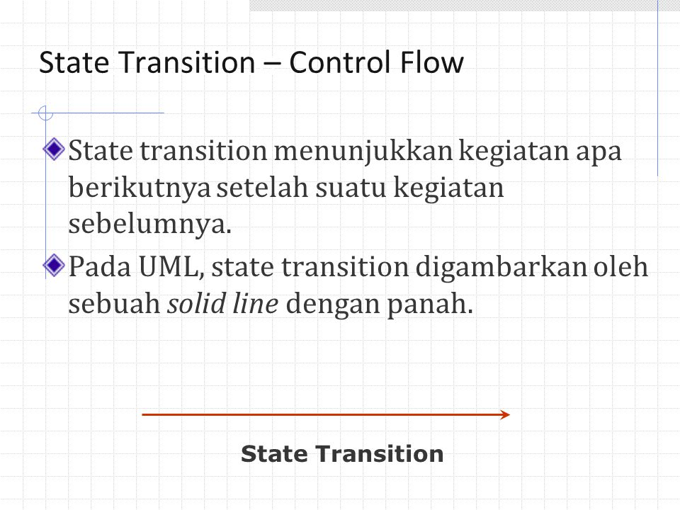 State Transition – Control Flow State Transitions
