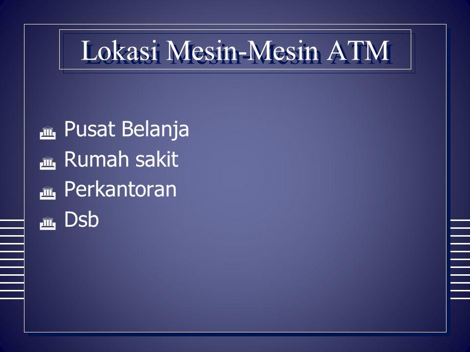 Lokasi Mesin-Mesin ATM