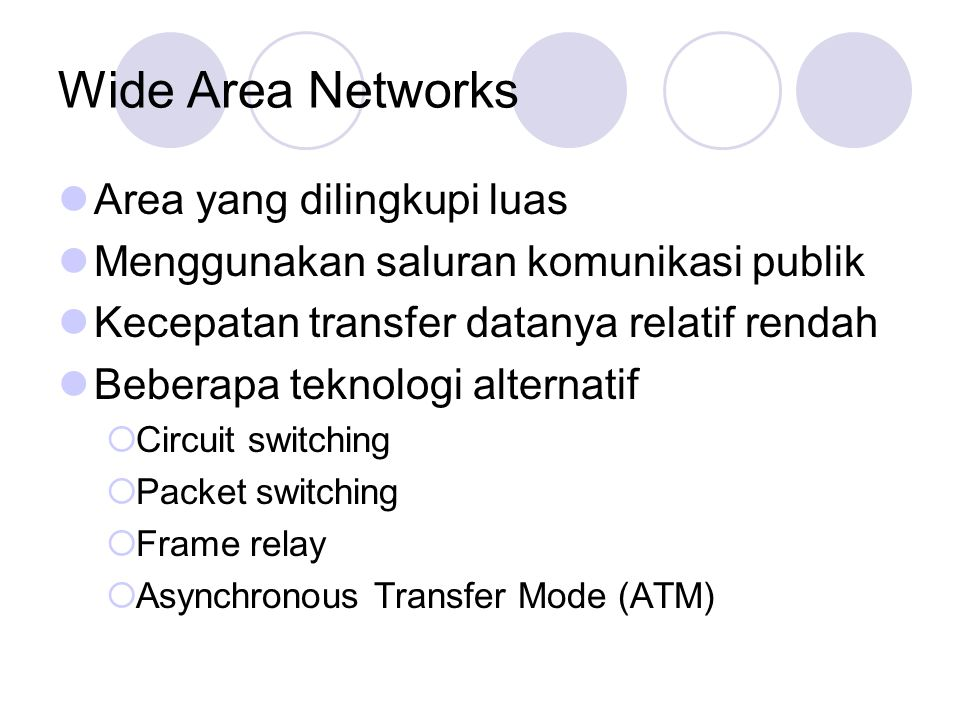 wide area networking essay Computer networking this network among computing devices may be established via either local area networks or wide area networks the essay below therefor.