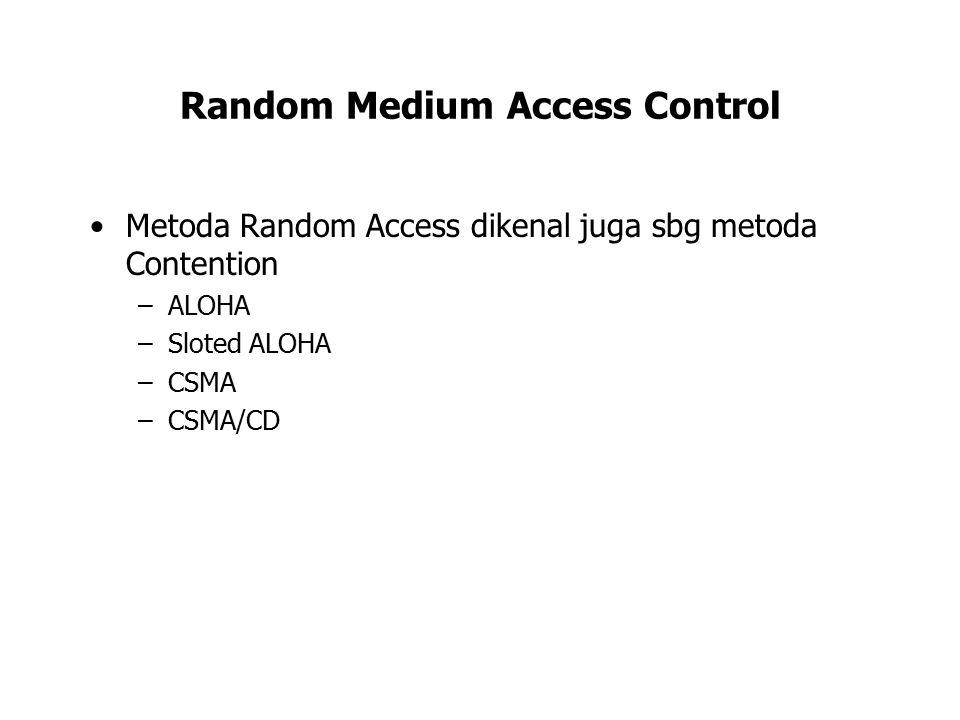 Random Medium Access Control