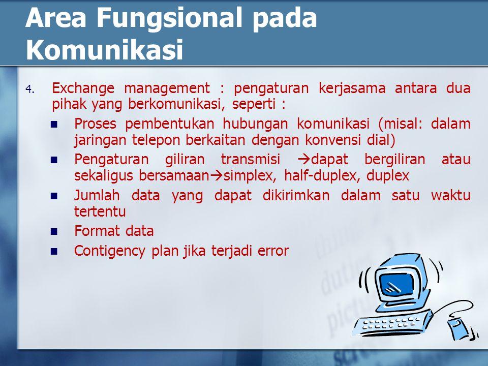 Area Fungsional pada Komunikasi