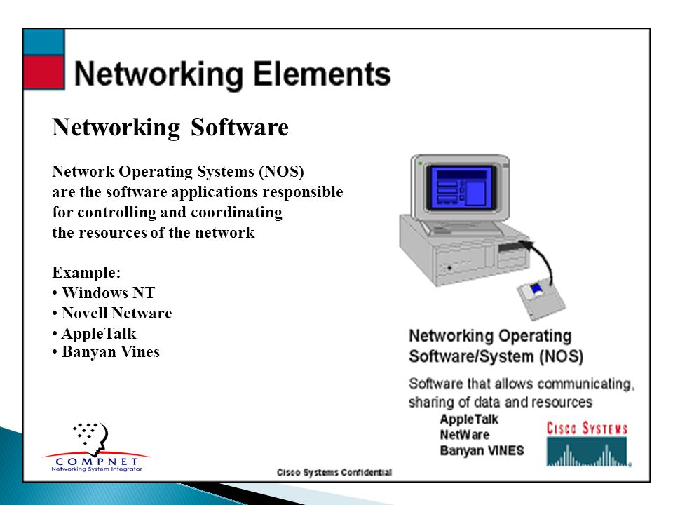 Networking Software Network Operating Systems (NOS)