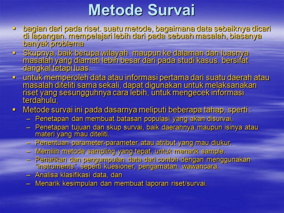 Metode Survai