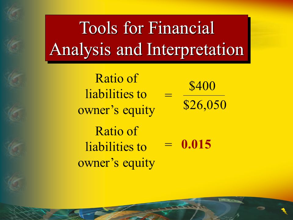 Tools for Financial Analysis and Interpretation