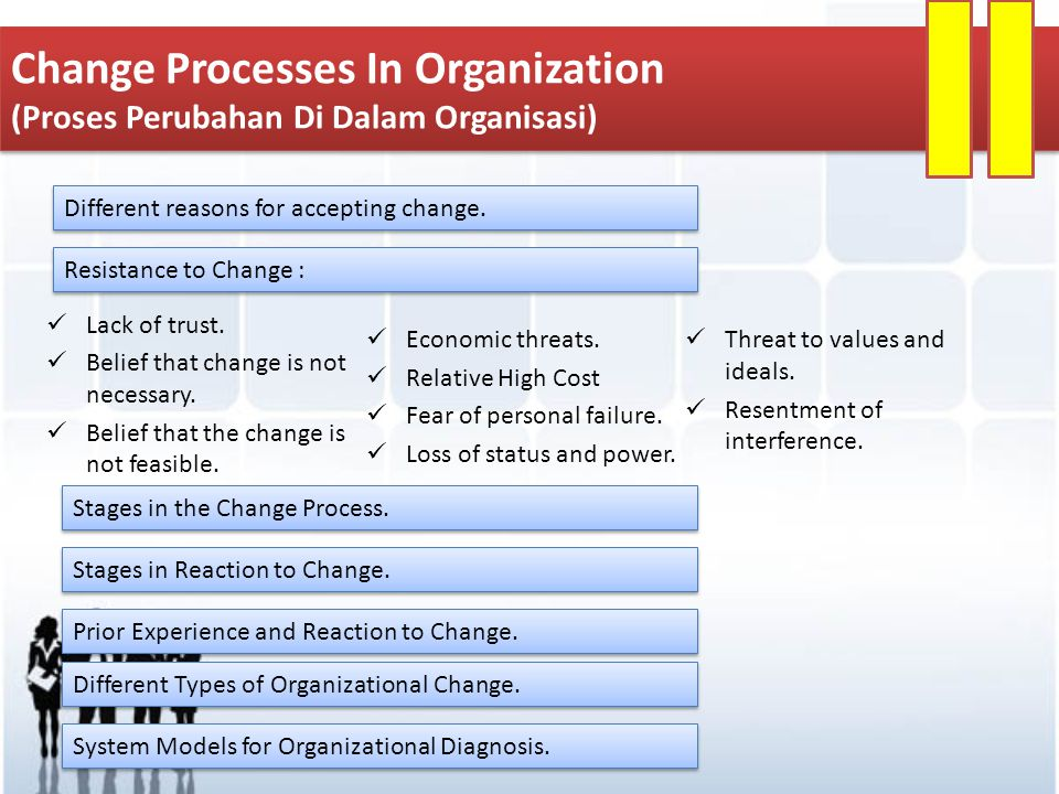 Change Processes In Organization